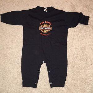 Baby new Harley Davison onesie baby 18 month